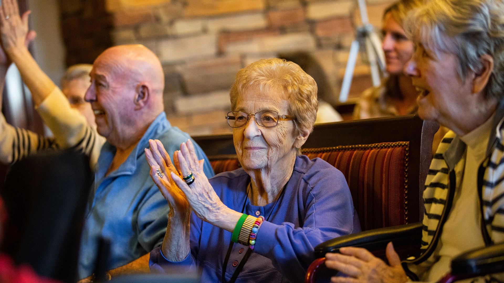 senior center residents