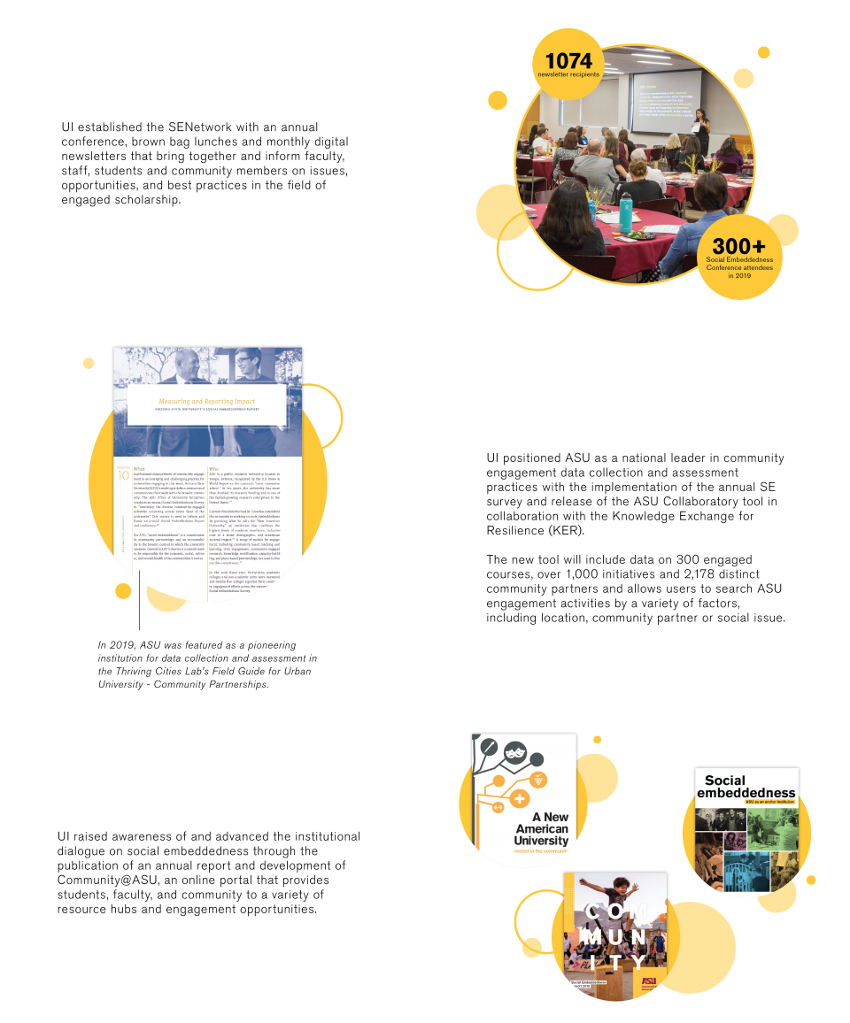 University Initiatives Social Embeddedness