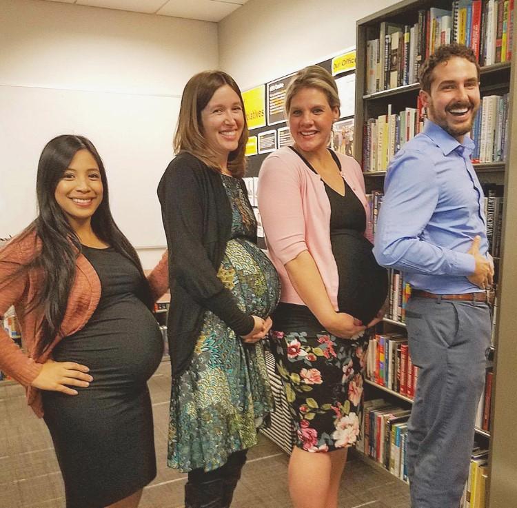 UI Office Pregnancies and Lukas Wenrick